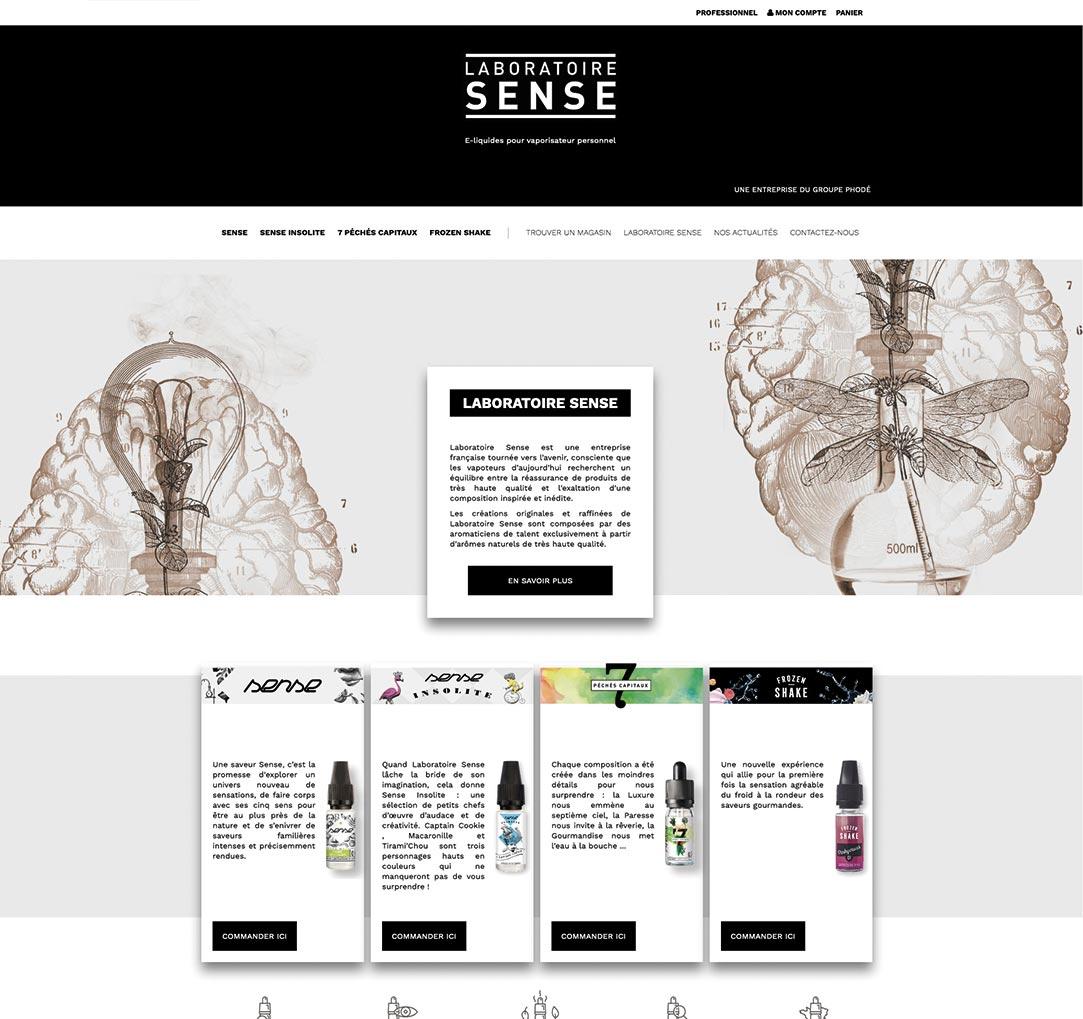 Laboratoire Sense Desktop