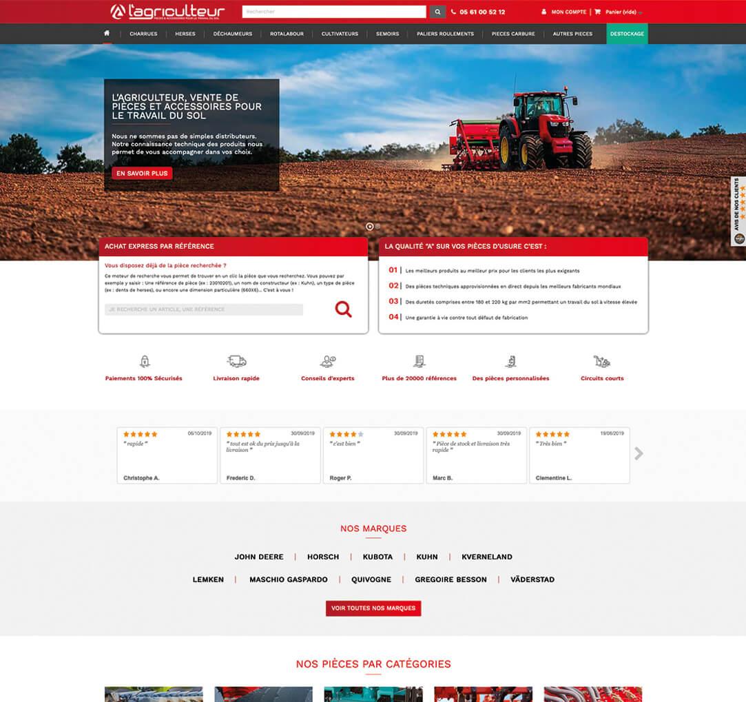 Lagriculteur Desktop