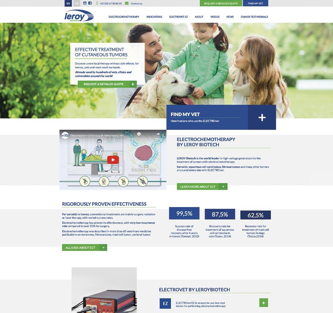 Leroy Biotech Desktop