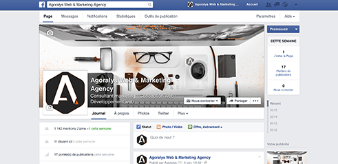 Agoralys Facebook Photo Profil Couverture