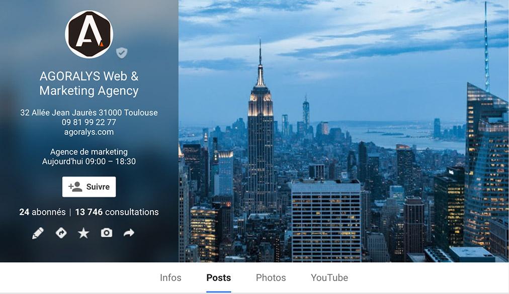 Agoralys Google Plus Photo Couverture Profil